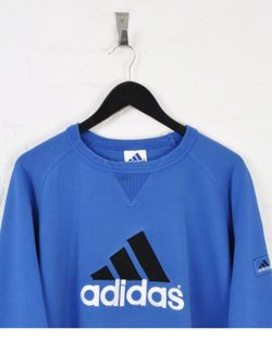 Adidas Blue Sweater Thumbnail