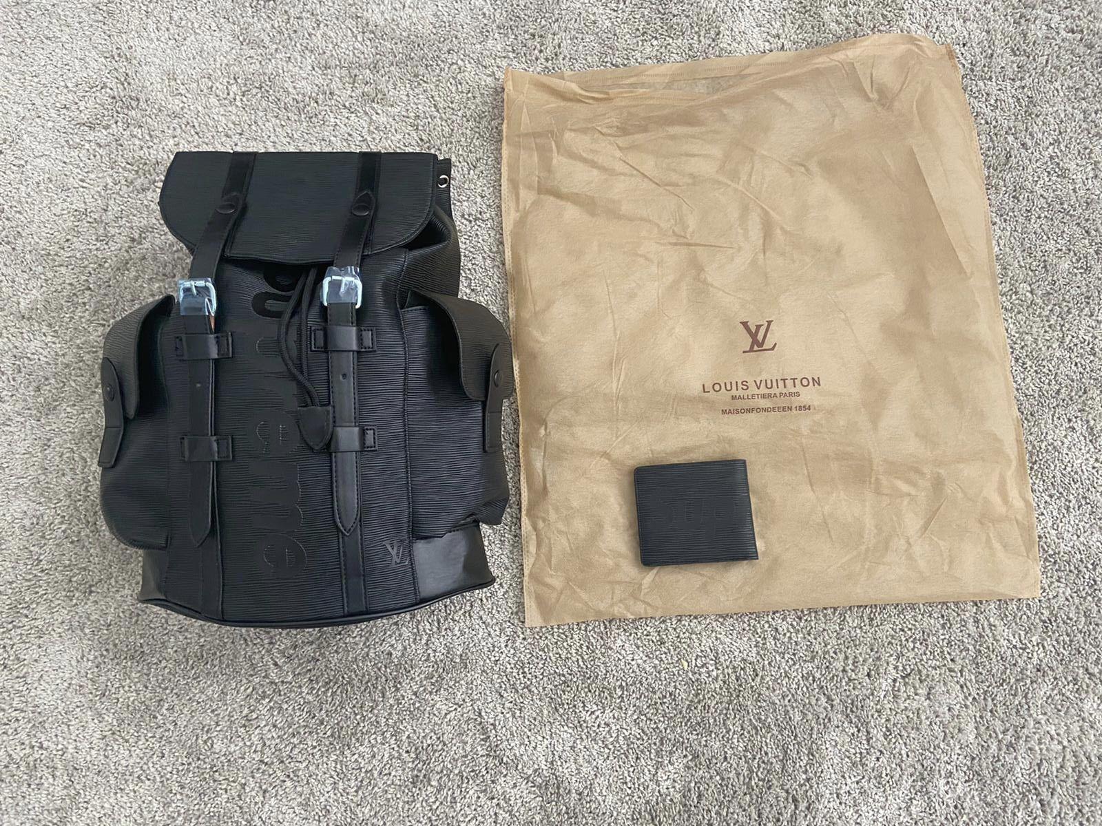 Backpack And Wallet For Men