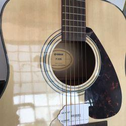 Yamaha F335 Acoustic Guitar With Gig Bag! Thumbnail