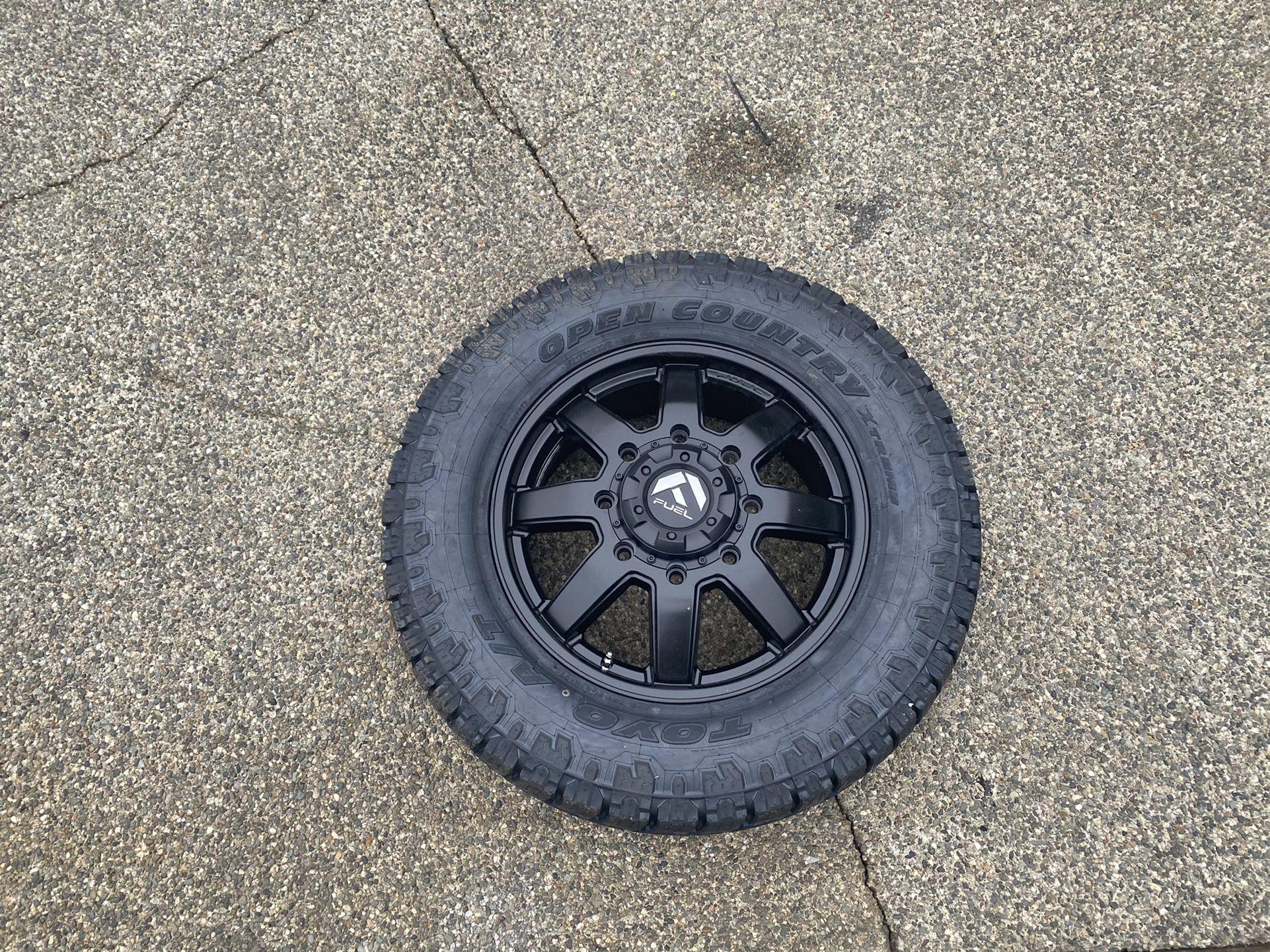 Fuel D436 Dually Front Wheel Spare