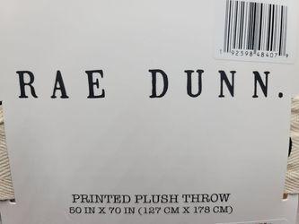 Rae Dunn Throw 50 x 70 Pumpkins Fall Halloween Plush Blanket  Thumbnail