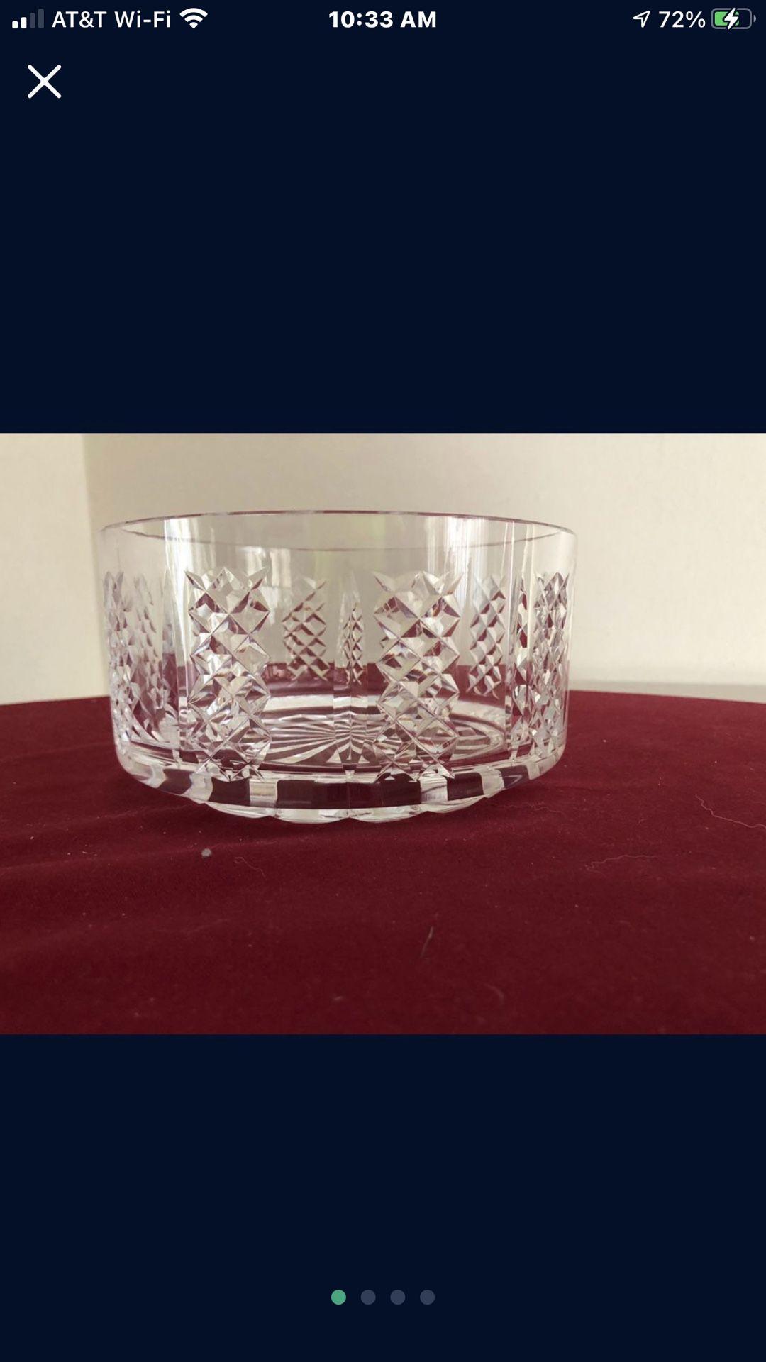 Waterford crystal fruit or salad bowl