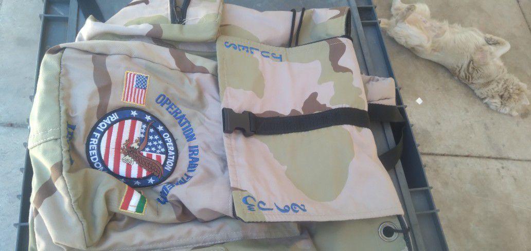 Operation Iraqi Freedom Bookbag