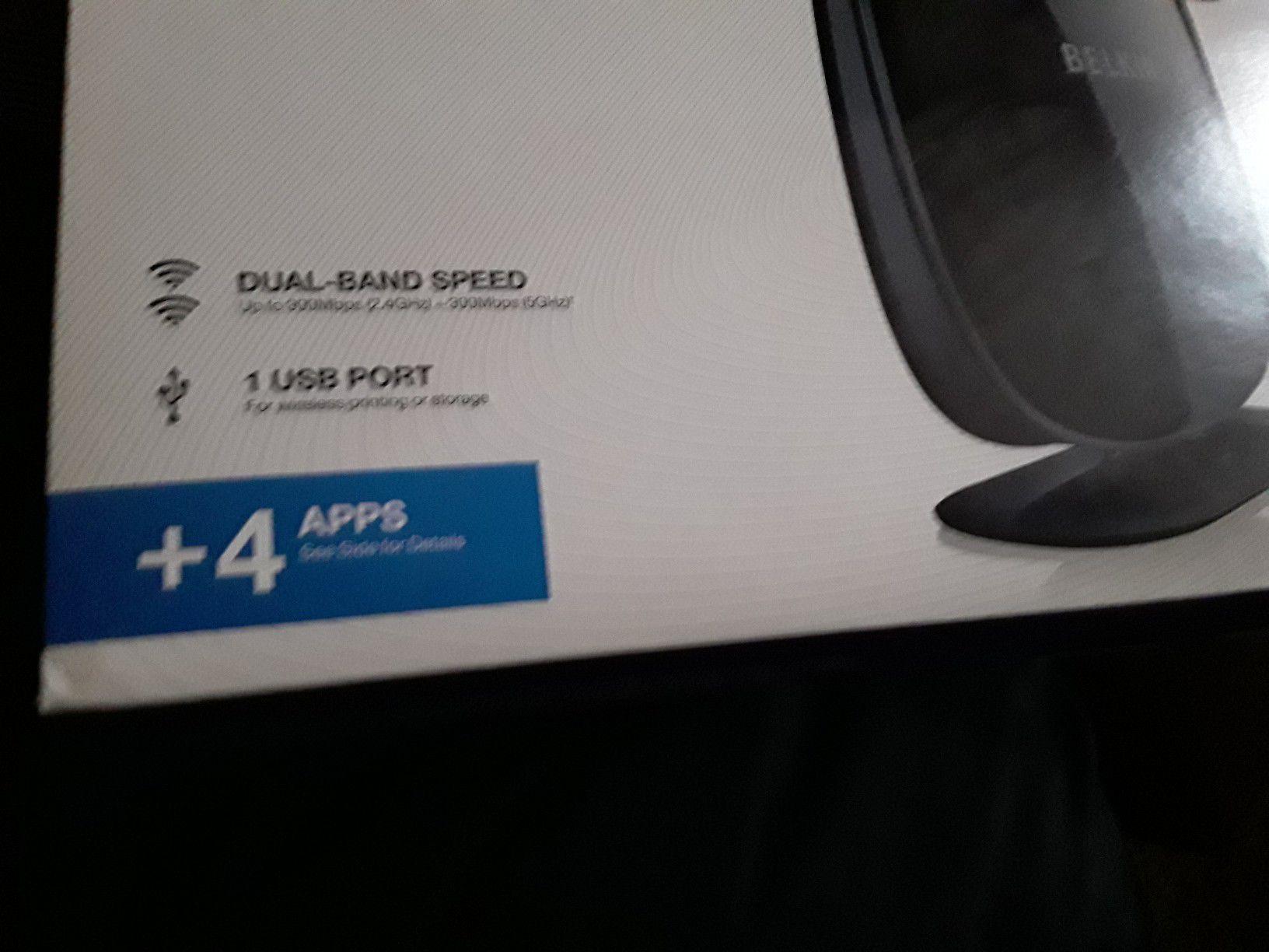 **New in box Belkin Witeless Router