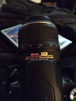 Nikon D60 with Nikon DX lense Thumbnail