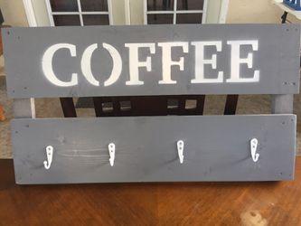 Coffee rack holder Thumbnail