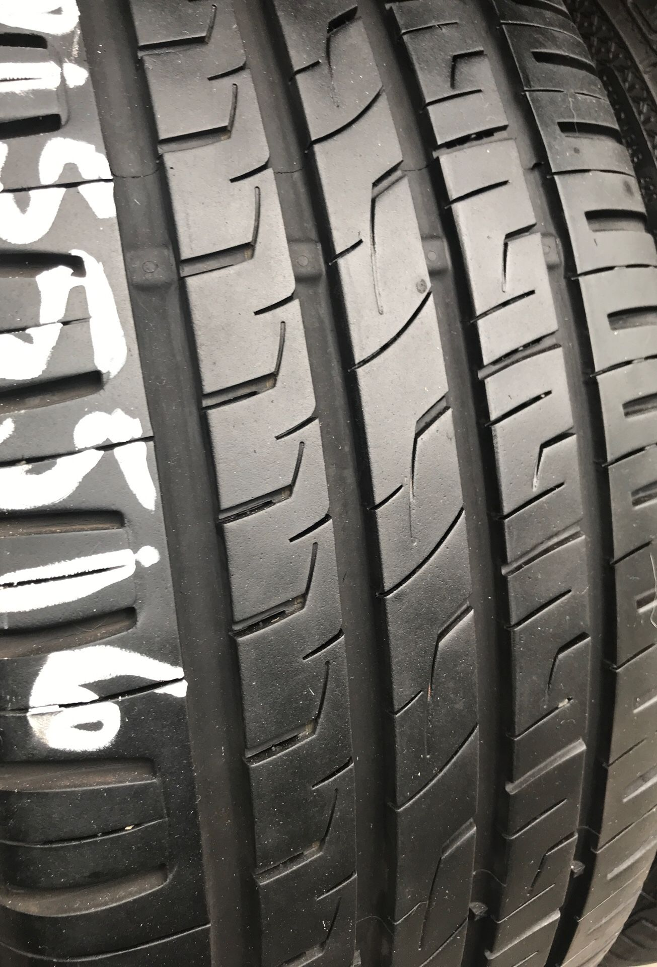 """16"""" tires 215/55/16 semi new with free installation $160"""
