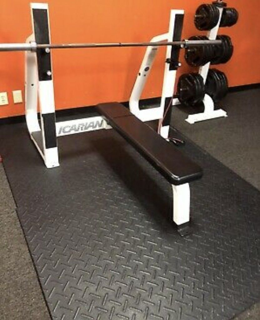 Commercial Gym Bench Press No Weight Or Barbell Included