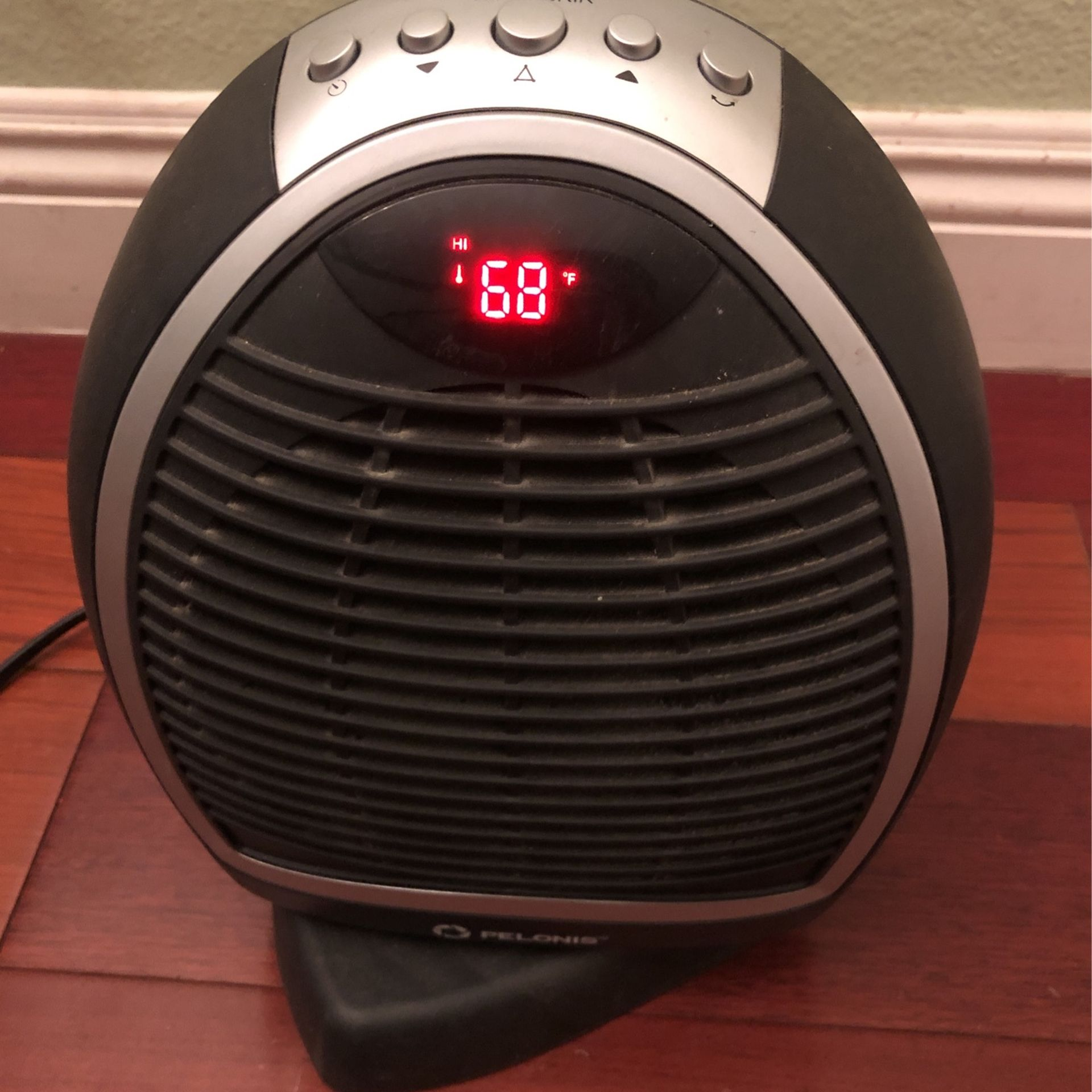 PELONIS Oscillating Digital Fan Heater