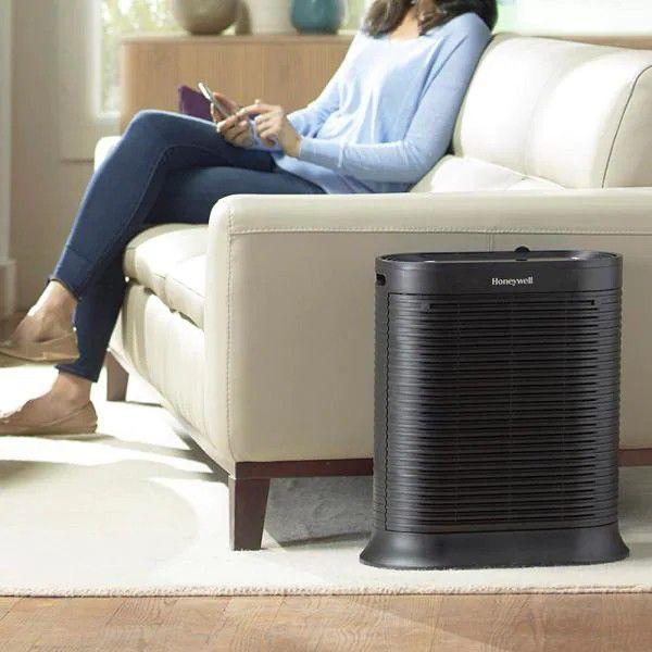 Honeywell HA202BHD True HEPA 310 sq. ft. Allergen Remover Air Purifier