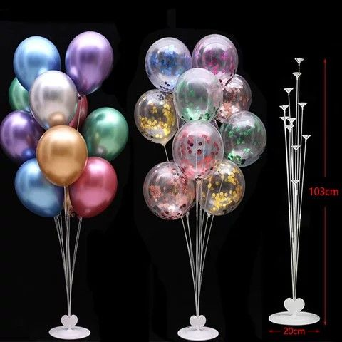 Balloon Stand Kit With Balloons