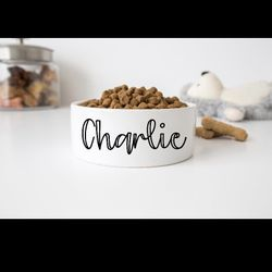 """Personalized Dog/Cat Bowls With Name 6"""" Or 7"""" Thumbnail"""