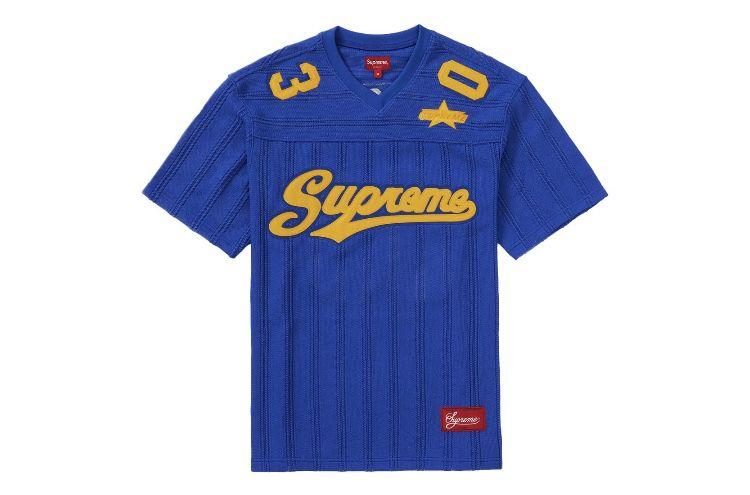 Supreme - Royal - Football Jersey - Large