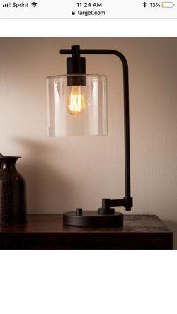 Hudson Industrial Desk Lamp - Black Finish NEW! Thumbnail
