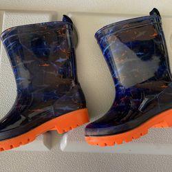 Brand New Toddler Boy Rain Boots Size 7/8 Thumbnail
