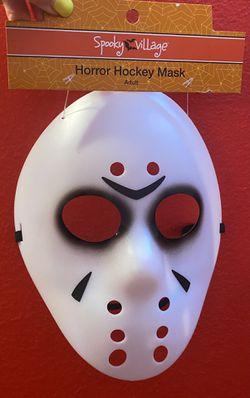 Horrow Hockey Halloween Adult Unisex Mask  Thumbnail