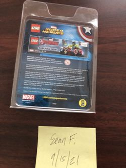 Lego SDCC Steve Rodgers/ Captain America  minifigure Thumbnail