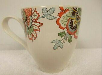 """Daniel Cremieux """"St. Barths"""" (4) Tea Coffee Mugs Cups Thumbnail"""