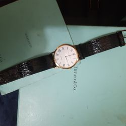 Baumer & Mercier Tiffany Wach Classima 18k Gold Is Used In New Condition Negociable. Thumbnail