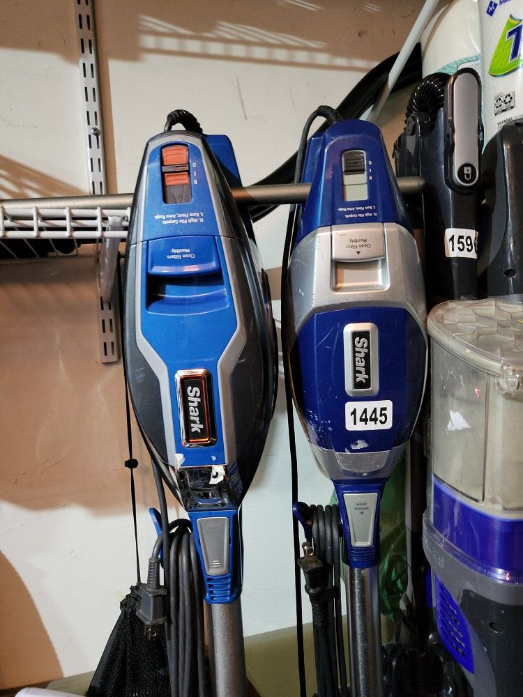 Shark Vaccuums Corded And Cordless Used