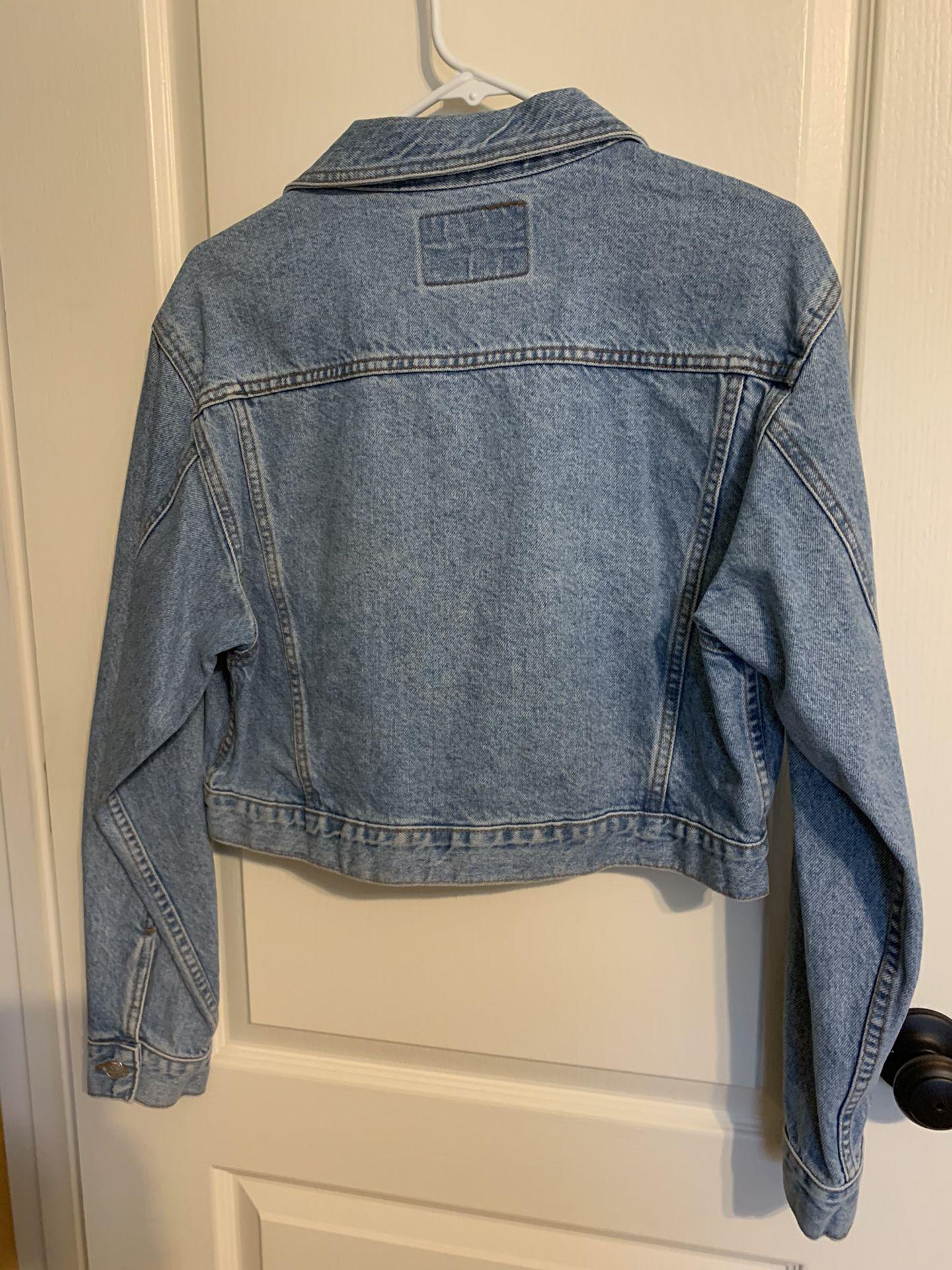 Junior's Quality Denim Cropped Jacket