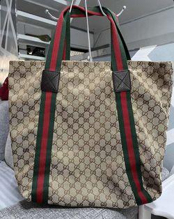 Gucci Sherry Line Tote Bag VGUC Thumbnail