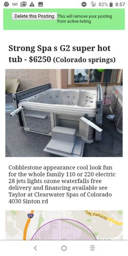 Hot tubs on sale huge savings and easy financing tubs are different prices based on size and equiptment Thumbnail