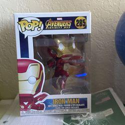 Avengers Infinity War Iron Man Funko Pop #285 Thumbnail
