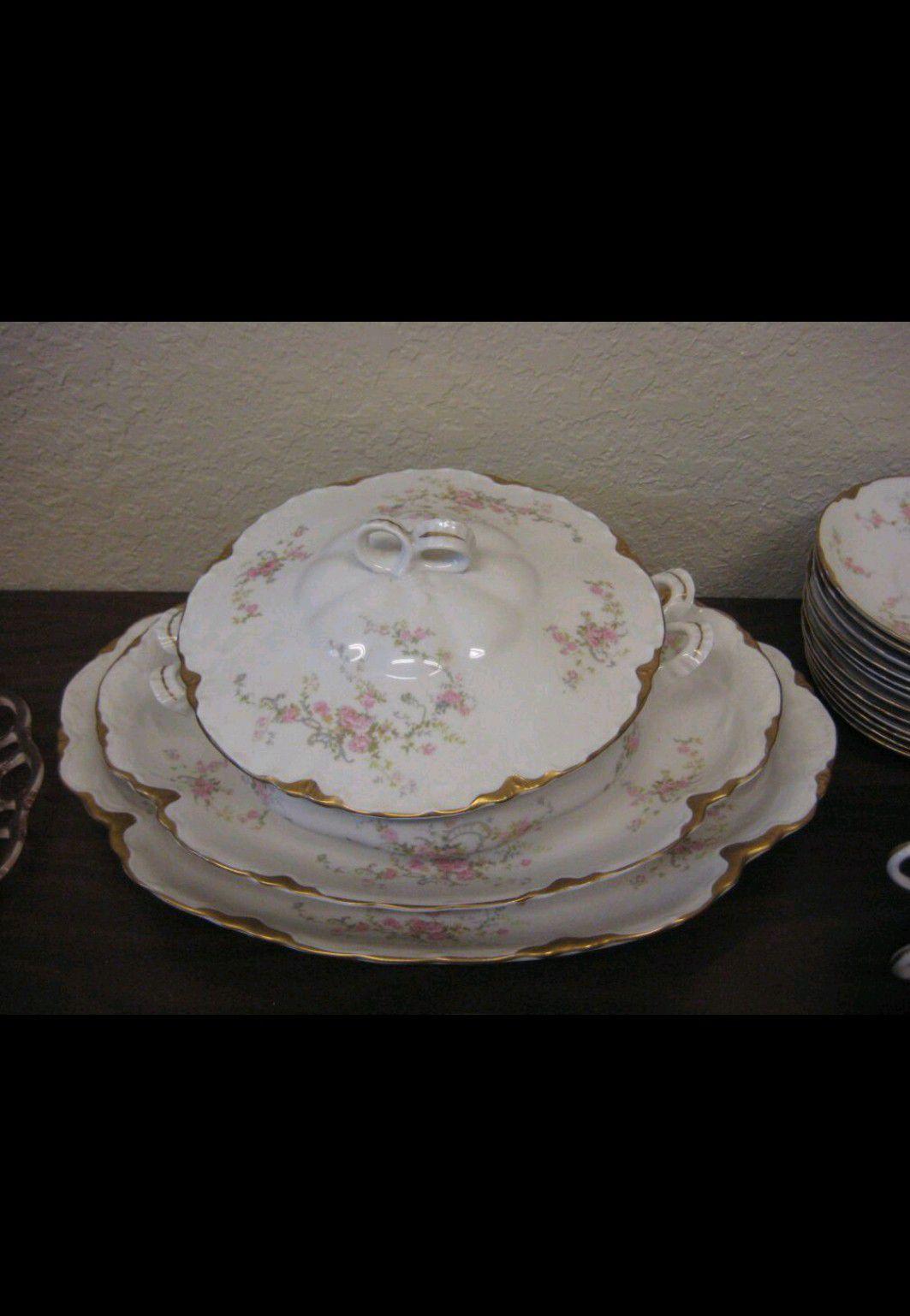 Antique Warwick fine bone china