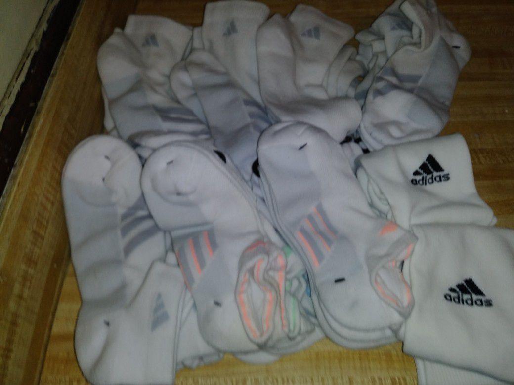 23 Adidas socks
