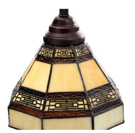Addison 3-Light Oil Rubbed Bronze Kitchen Island Light with Tiffany Style Stained Glass Shades NEW