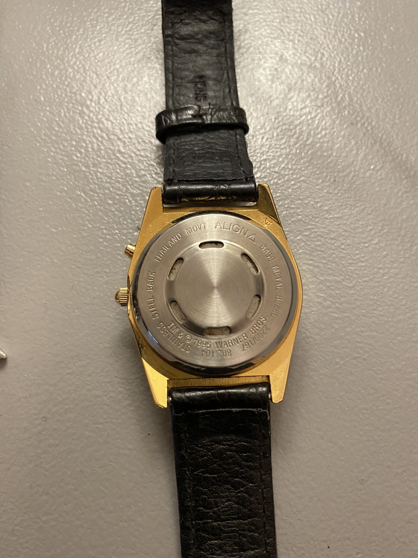 Warner brothers Tweety bird and Sylvester Musical watch