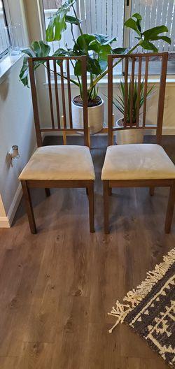 2x Wood Chairs Thumbnail