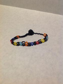 Daisy Beaded Bracelet Or Anklet Thumbnail