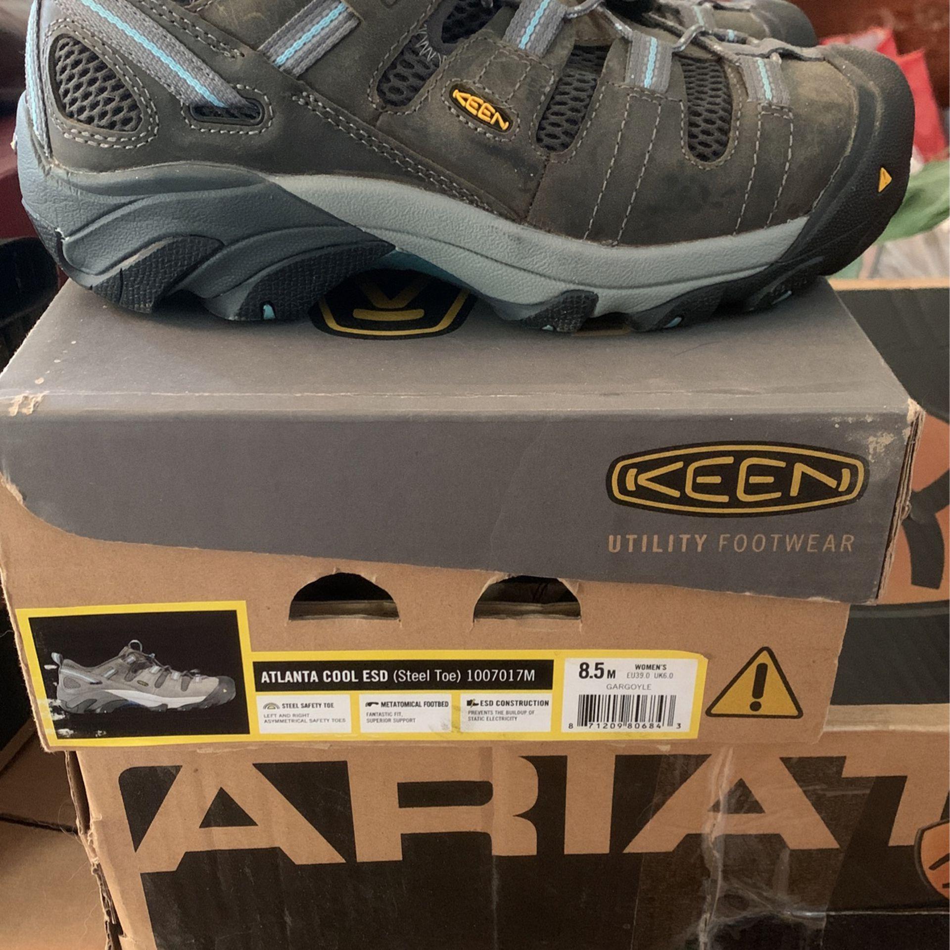 Women's Steel toe work shoes