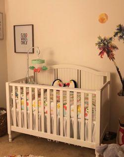 Pottery Barn Kids Crib w/ Mattress Thumbnail