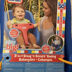 Little Tikes 2 In 1 Snug And Secure Swing Thumbnail