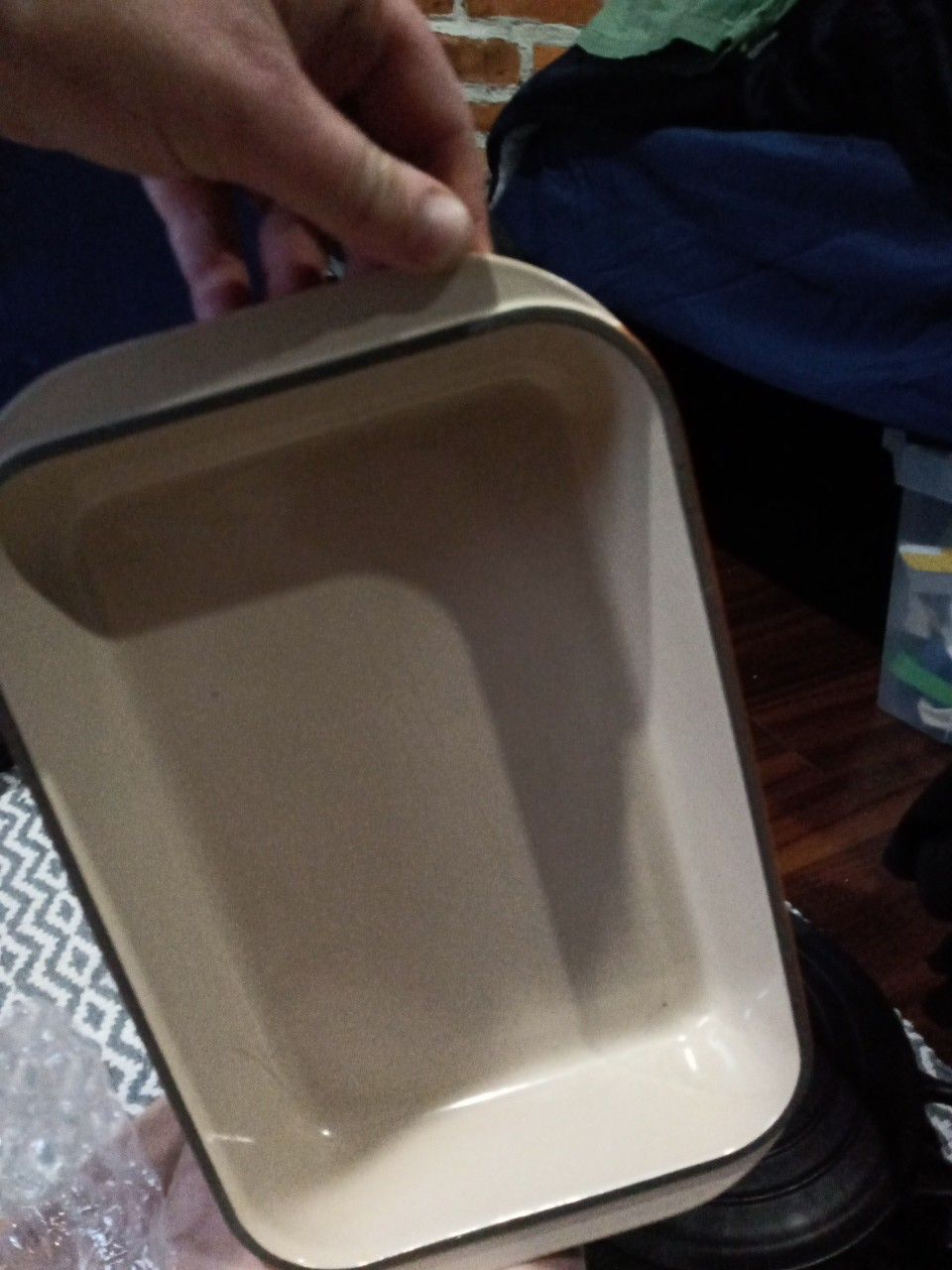 Brand new LeCreuset cast iron cookware