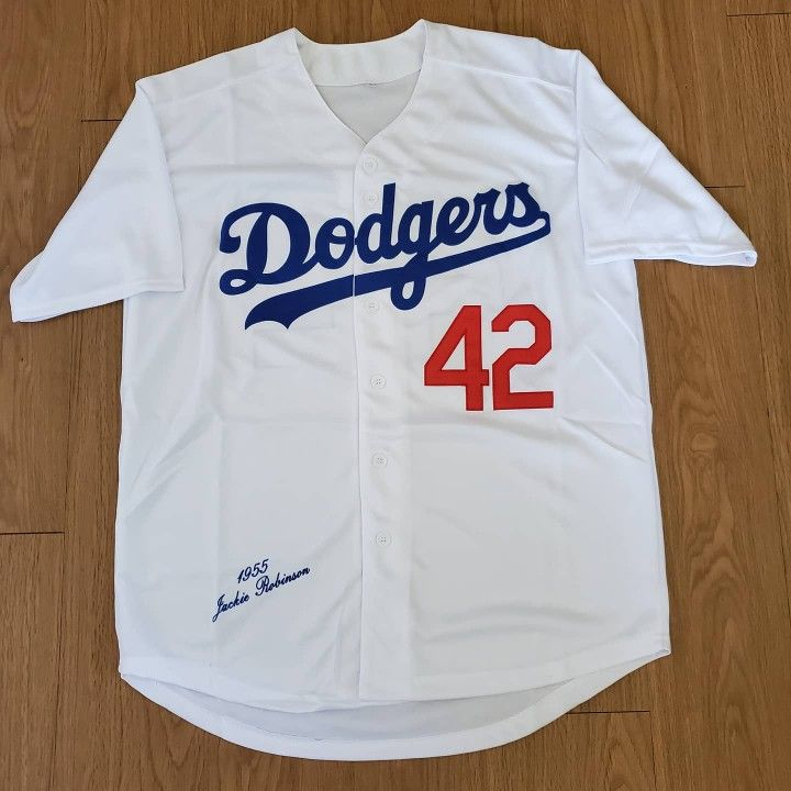 MENS JACKIE ROBINSON LOS ANGELES DODGERS JERSEY L