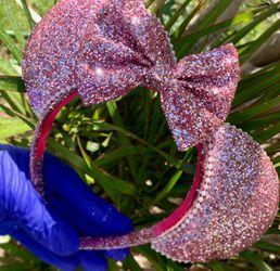 Minnie Mouse ears, Headbands,bows Thumbnail