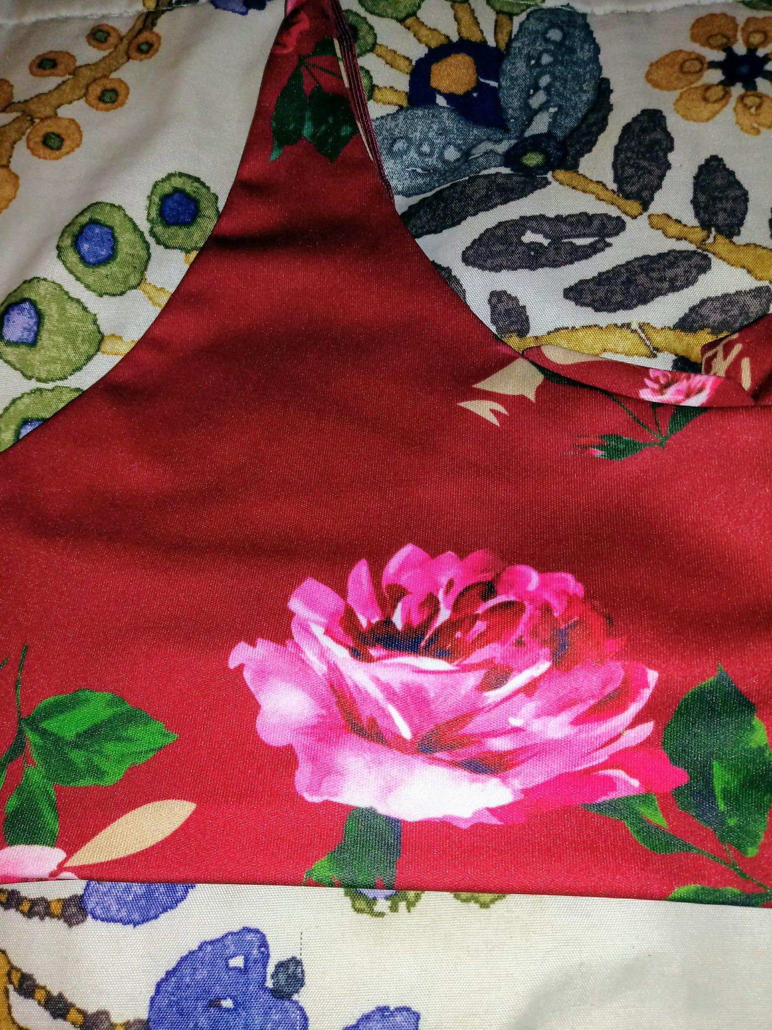 Rose Bikiny Top