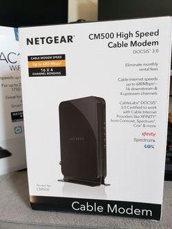 Netgear Router and Modem Thumbnail