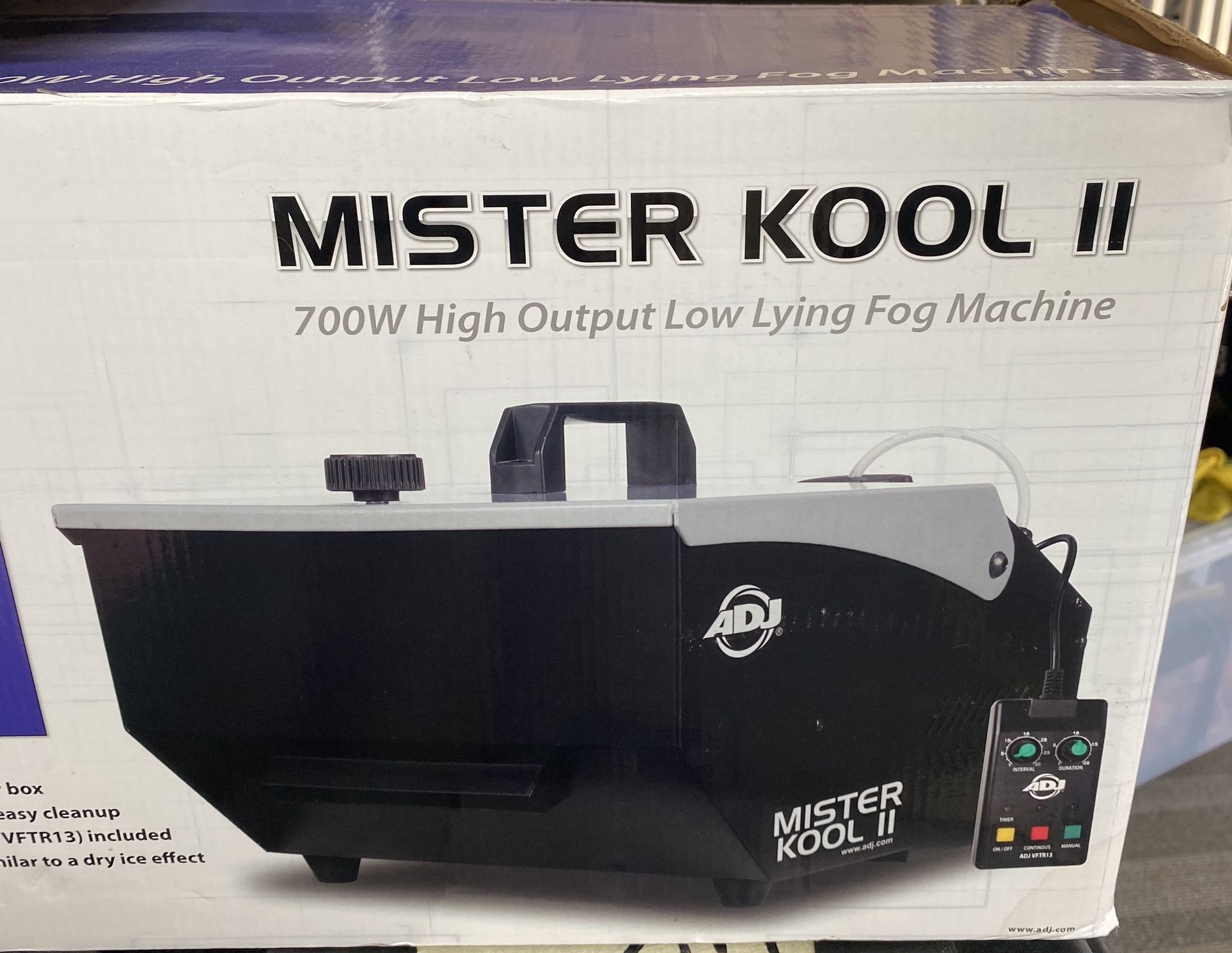 Low Fog Machine