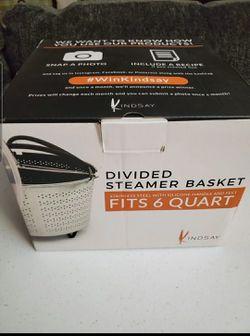 Divided Steamer Basket Thumbnail