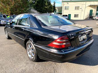 2000 Mercedes-Benz S-Class Thumbnail