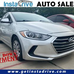 Are you looking to finance a used car vehicle?  2017 Hyundai Elantra Thumbnail