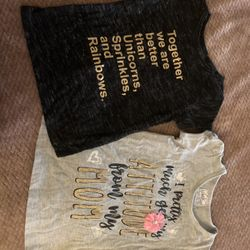 Girl Toddler T-shirts Size 2t-3t Thumbnail