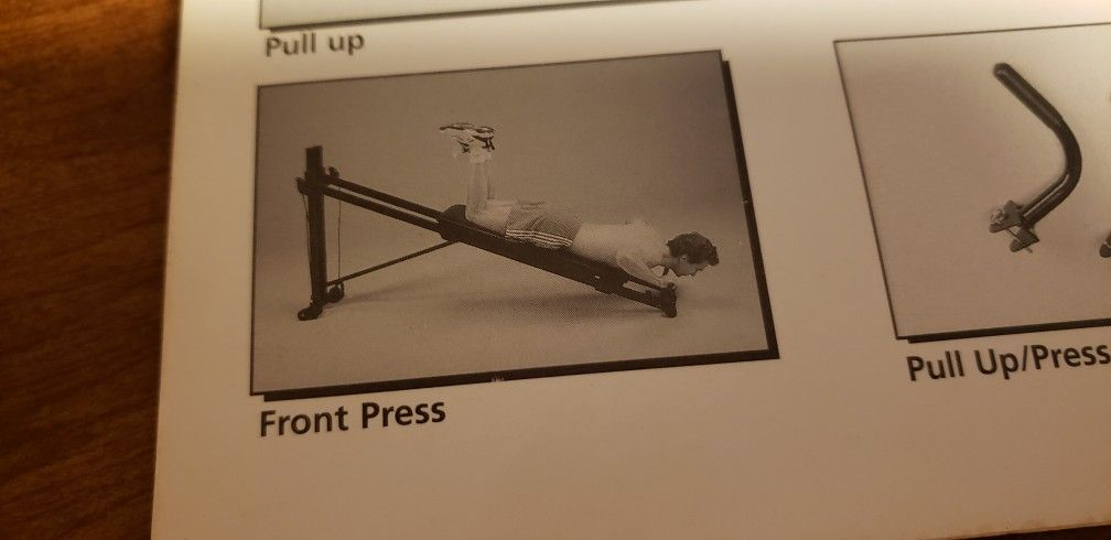 Exercise Equipment  Total Gym. This Is One Of The First Total Gym  sold.  1995 Brought