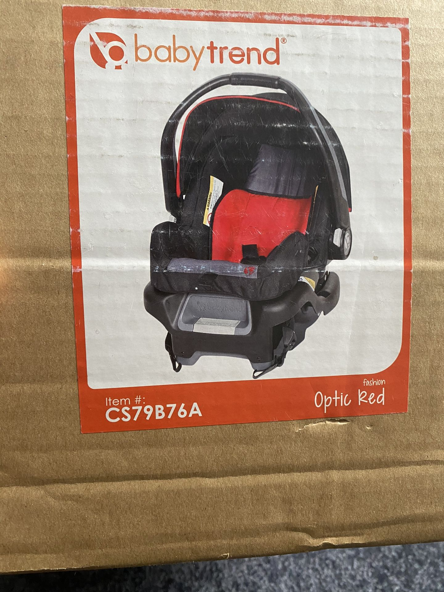 New Infant Car Seat With Base