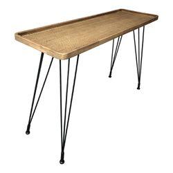 ROLLO RATTAN CONSOLE TABLE Thumbnail